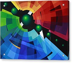 Rainbow Acrylic Print by Alberto DAssumpcao