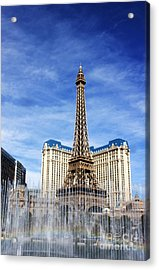 Rainbow At Paris Acrylic Print