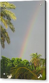 Acrylic Print featuring the photograph Rainbow Bermuda by Photographic Arts And Design Studio