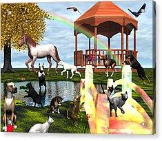 Rainbow Bridge Acrylic Print