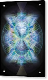 Rainbow Chalice Cell Isphere Matrix II Acrylic Print