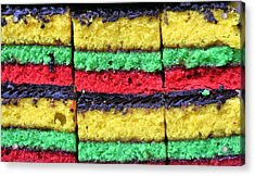 Rainbow Cookies Acrylic Print by JC Findley