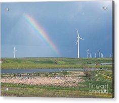 Rainbow Delight Acrylic Print