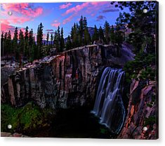 Rainbow Falls Devil's Postpile National Monument Acrylic Print