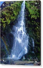 Acrylic Print featuring the photograph Rainbow Falls by John Williams