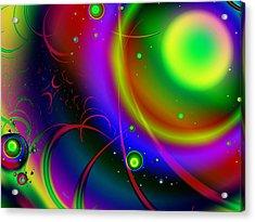Rainbow Halo Acrylic Print