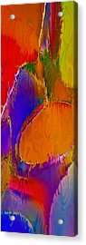 Rainbow In A Bottle Acrylic Print by Omaste Witkowski