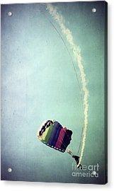 Rainbow In Motion Acrylic Print by Trish Mistric