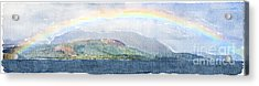 Rainbow Over The Isle Of Arran Acrylic Print