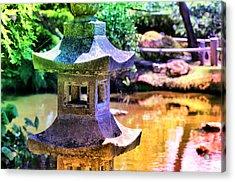 Rainbow Pagoda Acrylic Print