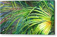 Rainbow Palms Acrylic Print