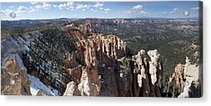 Rainbow Point Acrylic Print