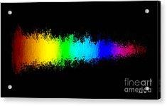 Rainbow Redux Acrylic Print