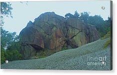 Acrylic Print featuring the photograph Rainbow Rock by John Williams