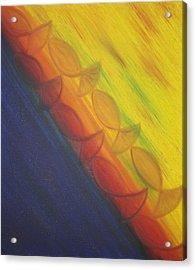 Rainbow Run Acrylic Print