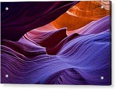 Rainbow Stone Acrylic Print