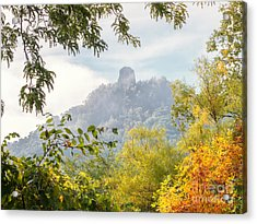 Acrylic Print featuring the photograph Rainbow Sugarloaf Landscape by Kari Yearous