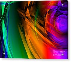 Rainbow Thoughts Acrylic Print