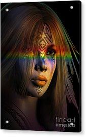 Rainbow Warrior ... Two  Acrylic Print by Shadowlea Is