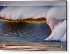 Acrylic Print featuring the photograph Rainbow Wave  C6j2648 by David Orias