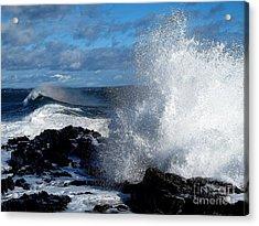 Rainbow Wave Acrylic Print