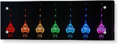 Rainbow Acrylic Print by Yue Wang