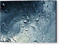 Raindrops Acrylic Print by Fabrizio Troiani