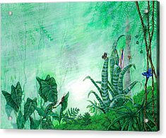 Rainforest Creatures. Acrylic Print