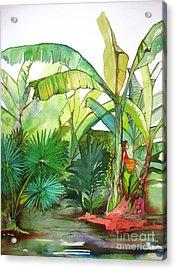 Rainforest Acrylic Print by Maya Simonson