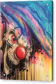 Raining Fear Acrylic Print by Mike Royal