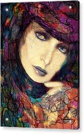 Raining Rainbows Acrylic Print by Shanina Conway
