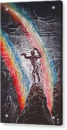Rainmaker Acrylic Print by Maria Arango Diener