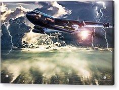 Rainmaker Acrylic Print by Peter Chilelli