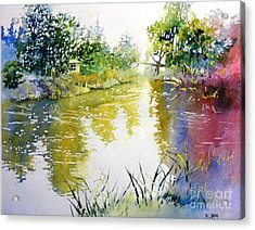 Rainny Day  Acrylic Print