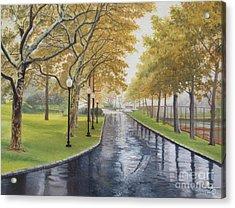 Rainy Afternoon At Montauk Acrylic Print