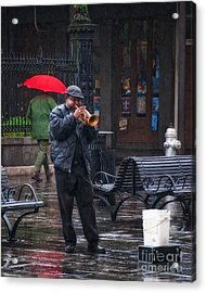 Rainy Day Blues New Orleans Acrylic Print