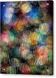 Acrylic Print featuring the photograph Rainy Day Christmas by Aaron Aldrich