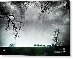 Rainy Day Farm Ver-5 Acrylic Print