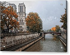 rainy day in Paris II Acrylic Print