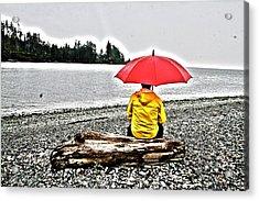 Rainy Day Meditation Acrylic Print