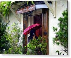Rainy Day People Acrylic Print