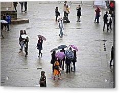 Rainy Day Acrylic Print by Randi Shenkman