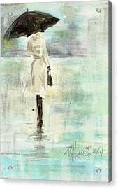Rainy Monday Acrylic Print