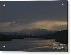 Acrylic Print featuring the photograph Rainy Morning by Gary Bridger