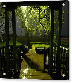 Acrylic Print featuring the photograph Rainy Night by Susan D Moody