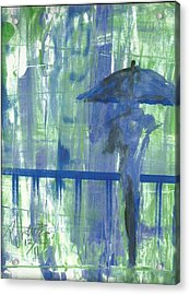 Rainy Thursday Acrylic Print by P J Lewis