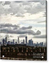 Rainyday Acrylic Print by Susan Townsend