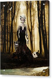 Raised By Wolves Acrylic Print