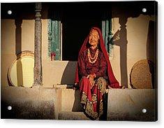 Raj Kumari Gurung Acrylic Print
