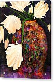Raku Acrylic Print